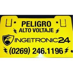 Avisos Para Cerco Eléctricos. Ingetronic24