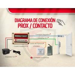 Control De Acceso Modulo Wiegand/rosslare/ Tarjetas De Prox
